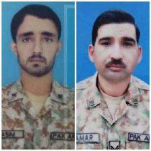 لیہ کے رہاشی پاک فوج کےدونوجوان دتہ خیل میں شہید