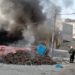 لیہ چوک اعظم غلہ منڈی میں شارٹ سرکٹ کے باعث آگ بھڑک اٹھی